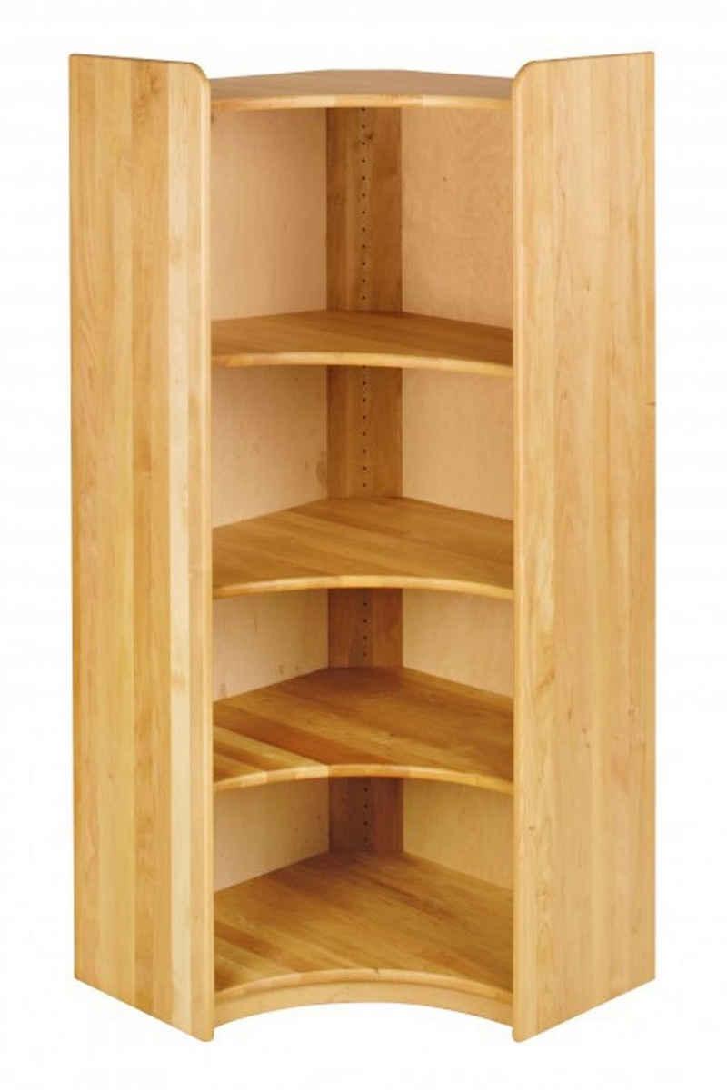 BioKinder - Das gesunde Kinderzimmer Eckregal »Lara«, Ecklösung 160 cm mit 3 Einlegeböden
