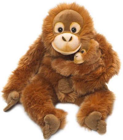 WWF Kuscheltier »Orang-Utan Mutter mit Baby 25 cm«, zum Teil aus recycelten Material