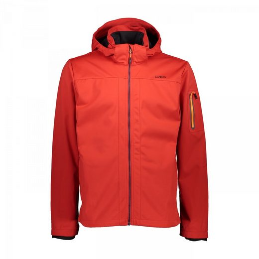 CMP Kurzjacke »Jacke aus Light Softshell mit abnehmbarer Kapuze«