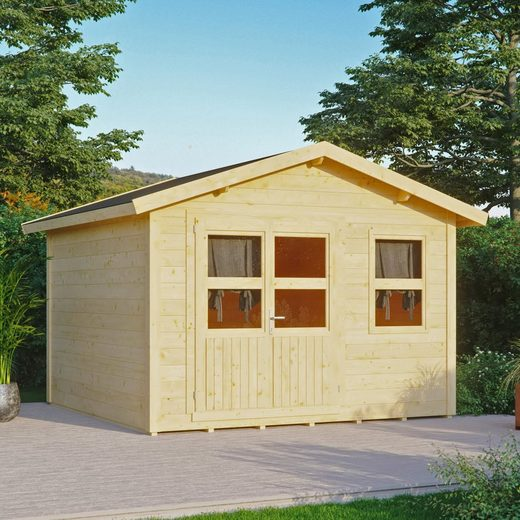 KONIFERA Gartenhaus »Blankenese 4«, BxT: 342x343 cm