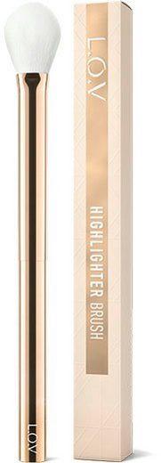 L.O.V Highlighterpinsel »HIGHLIGHTER BRUSH«, für cremige Texturen;für pudrige Texturen;synthetisches Haar