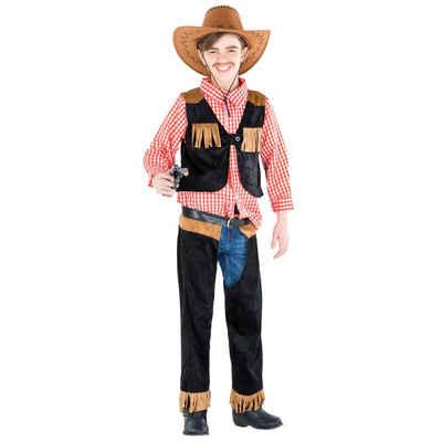 tectake Cowboy-Kostüm »Jungenkostüm Cowboy Jimmy«