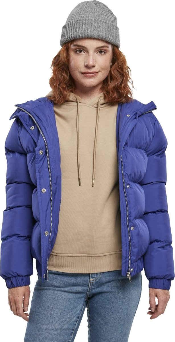 URBAN CLASSICS Allwetterjacke »Ladies Hooded Puffer Jacket«