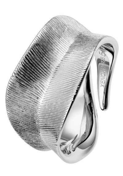 XENOX Silberring »LEAF, XS1893/52, XS1893/54, XS1893/56, XS1893/58«