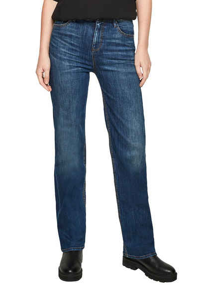 s.Oliver Straight-Jeans in toller Waschung