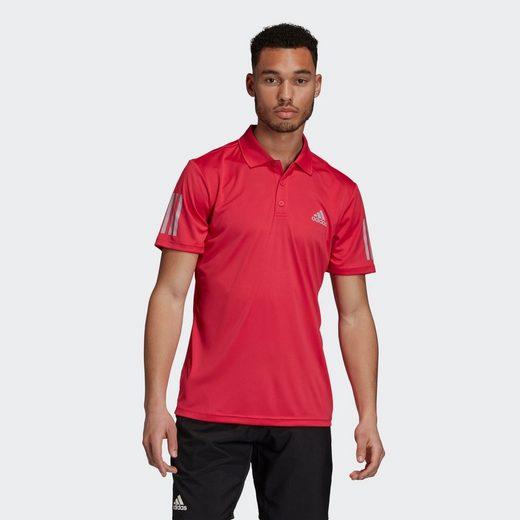 adidas Performance T-Shirt »3-Streifen Club Poloshirt«