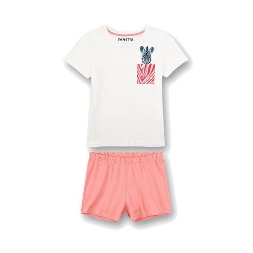 Sanetta Pyjama »Mädchen Schlafanzug Set - kurz, Kinder, 2-tlg.,«