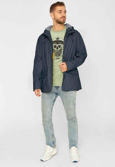 Derbe Regenjacke »Passby« wasserabweisend, Innentasche, PVC frei