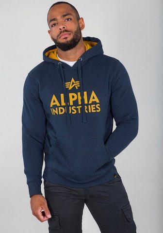 Alpha Industries Sportinis megztinis su gobtuvu