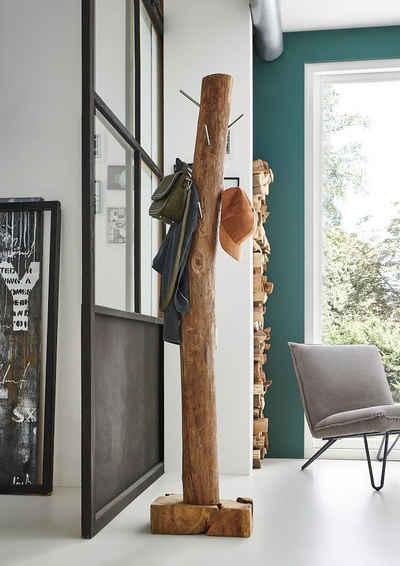 Junado® Kleiderständer »Zagon«, Garderobenständer hohe Belastbarkeit massiver Standfuß
