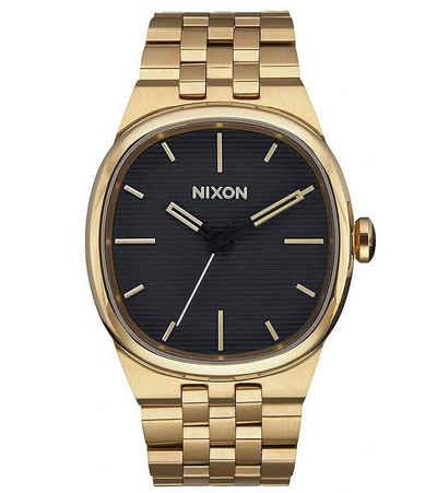 Nixon Quarzuhr »NIXON Zegarek Armband-Uhr analoge Herren Quarz-Uhr wasserdicht Freizeit-Uhr Gold«