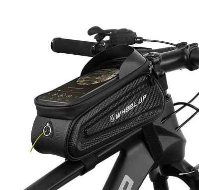 WHEEL UP Rahmentasche »Fahrrad XL Rahmentasche Fahrradtasche Oberrohrtasche für 6,0'' Handys, schwarz«