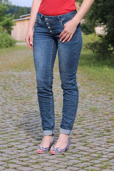 Buena Vista Stretch-Jeans »Malibu stretch Denim mid Blue«