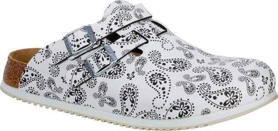 »Kay SL Paisley« Clog Arbeitsschuh, Sandale