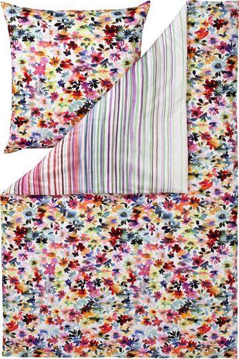 Bettwäsche »DAISY«, Estella, mit farbenfrohen Blumen
