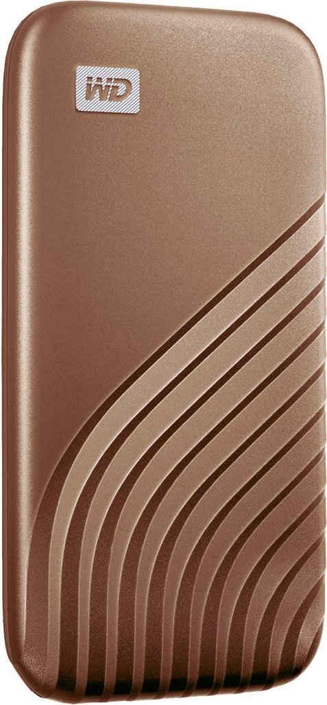 WD »My Passport™ SSD« externe SSD (500 GB) 1050 MB/S Lesegeschwindigkeit, 1000 MB/S Schreibgeschwindigkeit)