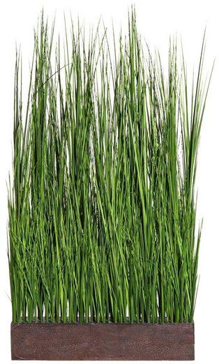 Kunstgras »Gras Raumteiler«, Creativ green, Höhe 125 cm