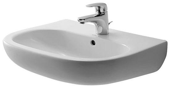 Duravit Waschbecken »D-Code«, mit Hahnloch und Überlauf