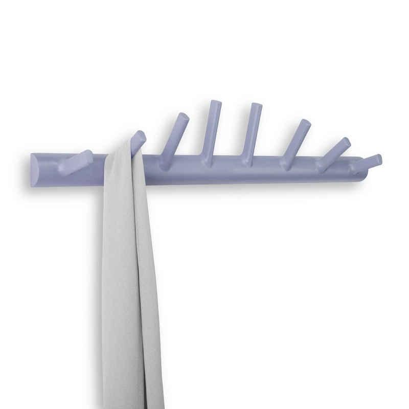Umbra Garderobenhalter »Garderobe HELIX.HOOK 8 Haken, Lavendel«, Ca. 2.2 kg Belastbarkeit pro Haken