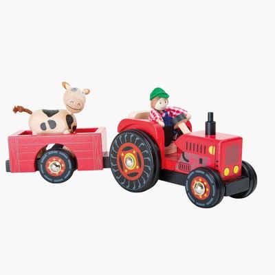 "Small Foot Spielzeug-Traktor »Traktor mit Anhänger ""Bauernhof""«"
