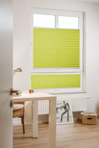 Plissee nach Maß »Eco-Line Libre«, sunlines, Lichtschutz, verspannt, nachhaltig