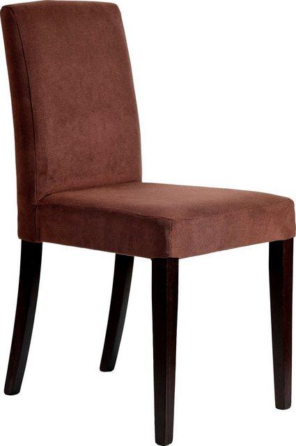 Stühle und Bänke - Home affaire Polsterstuhl »Sun« (Set, 2 Stück), Gestell aus Massivholz  - Onlineshop OTTO