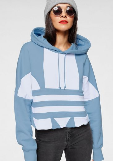 adidas Originals Kapuzensweatshirt »LARGE LOGO CROP-HOOD«