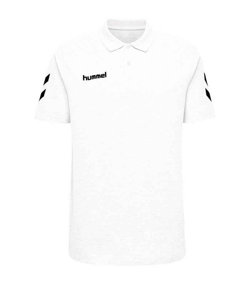 hummel T-Shirt »Cotton Poloshirt«