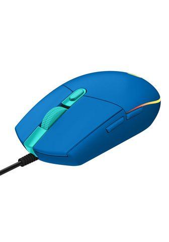 Logitech »G203 LIGHTSYNC« Gaming-Maus (kabelgeb...