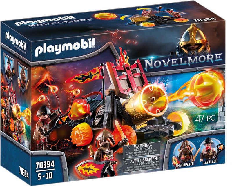 Playmobil® Konstruktions-Spielset »Burnahm Raiders Lavabombarde (70394), Novelmore«, (47 St), Made in Germany