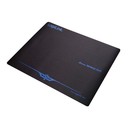 LogiLink Gaming Mauspad (1-St), Mauspad XXL für Gaming und Grafikdesign, 400 x 300mm, Naturkautschuk