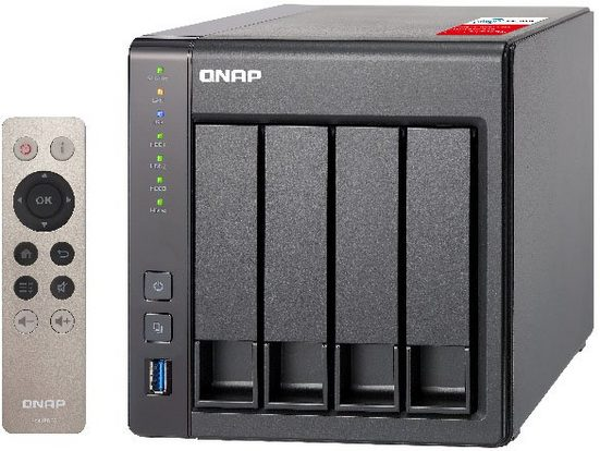 QNAP Turbo NAS TS-451+-2G NAS-Server