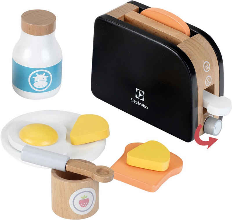 Klein Kinder-Toaster »Electrolux, Holz«, mit Toastscheiben aus Holz