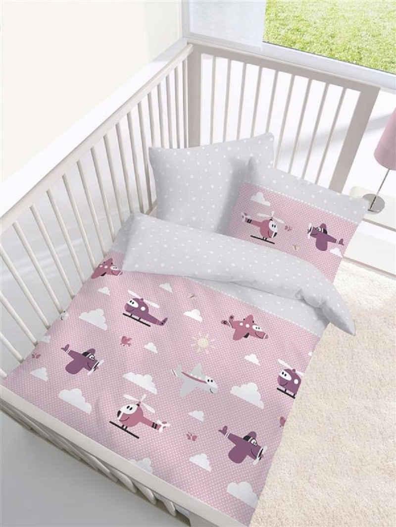 Bettwäsche »Dobnig Biber Baby Bettwäsche 2 teilig Bettbezug«, Träumschön