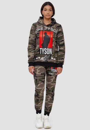 John Kayna Jogginganzug »Damen Jogginganzug Mike Tyson, Streetwear, Fitne« (2-tlg), Unisex