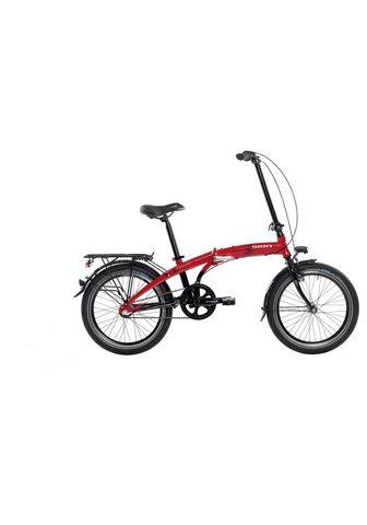 SIGN Sudedamas dviratis 3 Gang Shimano NEXU...