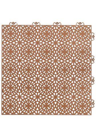 Bergo Flooring Terrassenplatten »XL terrakotta« 38x38...