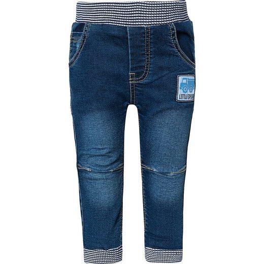 Salt & Pepper Jeansshorts »Baby Jeanshose für Jungen, Fahrzeuge«
