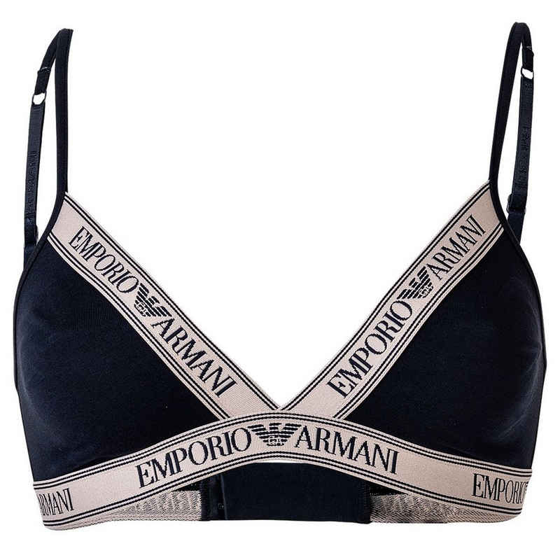 Emporio Armani Bustier »Damen Bustier - Soft Triangle Bra, BH, Stretch«