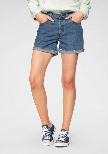 Levi's® Jeansshorts »501 Button« Mit Knopfverschluss und krempelbarem Saum