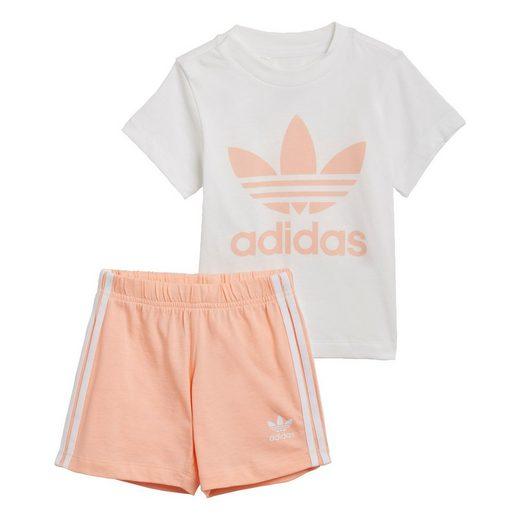 adidas Originals Trainingsanzug »Trefoil Shorts und T-Shirt Set«