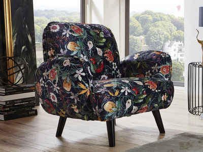 ATLANTIC home collection Sessel, mit Wellenunterfederung