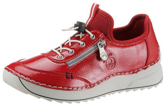 Rieker Slip-On Sneaker in glänzender Optik