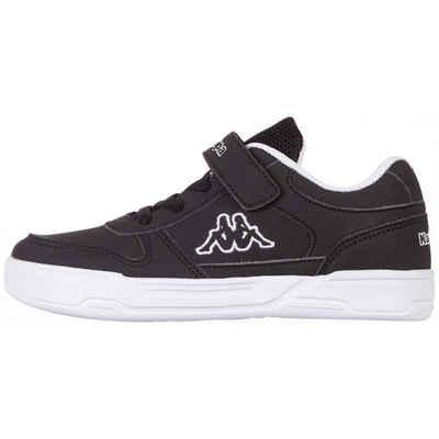 Kappa »DALTON ICE TEENS« Sneaker mit praktischem Klettverschluss & Elastikschnürung