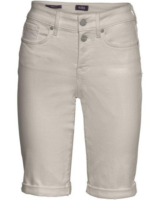 Hosen - NYDJ Jeansshorts »Bermuda Briella« › braun  - Onlineshop OTTO
