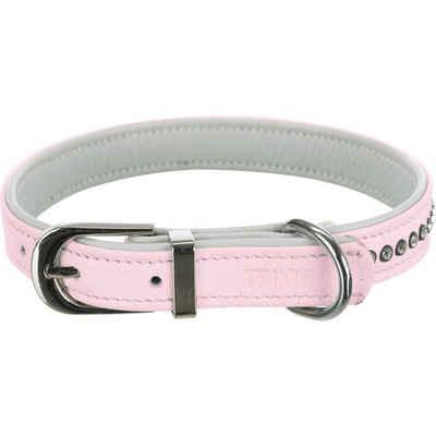 TRIXIE Hunde-Halsband »Active Comfort Strass«, Leder