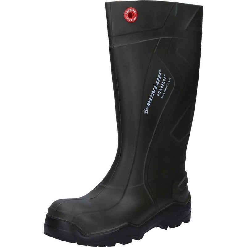 Dunlop »Dunlop Stiefel Purofort+ grün S5« Sicherheitsstiefel