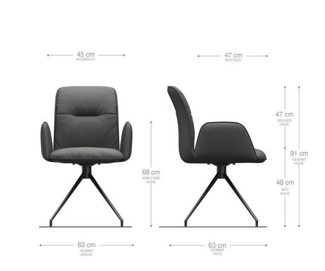 Stühle und Bänke - DELIFE Esszimmerstuhl Vinja Flex Polsterstuhl  - Onlineshop OTTO