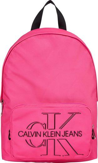 Calvin Klein Jeans Cityrucksack »CKJ SPORT ESSENTIALS CAMPUS BP 40 TPU«, aus recycled Polyester
