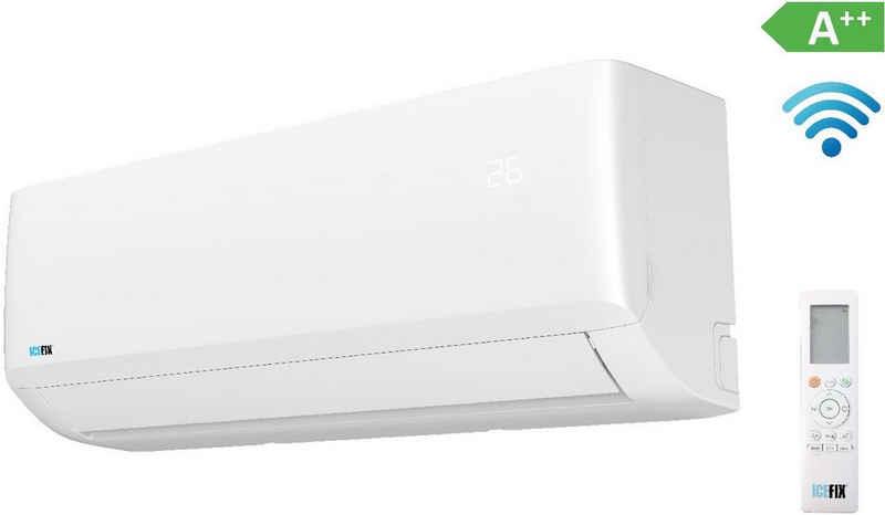 ICEFIX Split-Klimagerät 1600 IU / 1600 OU, bestehend aus Innen- und Außeneinheit Icefix 1600 IU/ Icefix 1600 OU, inkl. Montage